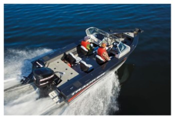 The Targa V 18 WT Also Has A Great Interior Layout For FishingThe Front Deck Is Very Roomy With Ample Space To Pull Bottom Bouncers Pitch Jigs Or Cast