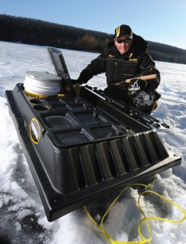 News flash the shuttle program continues great lakes for Frabill ice fishing suit
