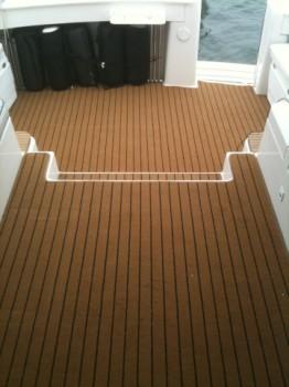Teak Pattern Boat Carpet Vidalondon