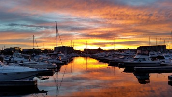 Reefpoint earns top marina rating great lakes scuttlebutt for Racine harbor fishing report