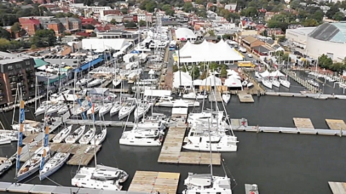Timelapse Setup of 2018 US Sailboat Show Video
