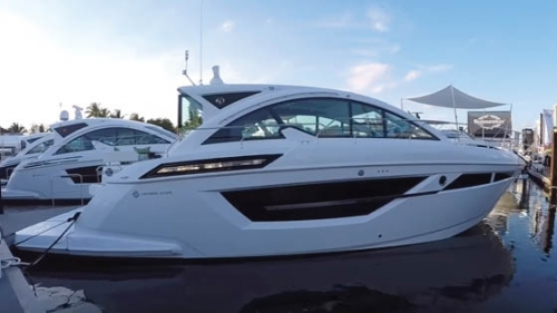 2017 Cruisers Yachts 50 Cantius Video