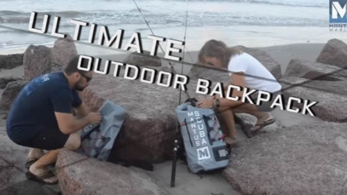 Waterproof Backpack by Mantus Marine Video