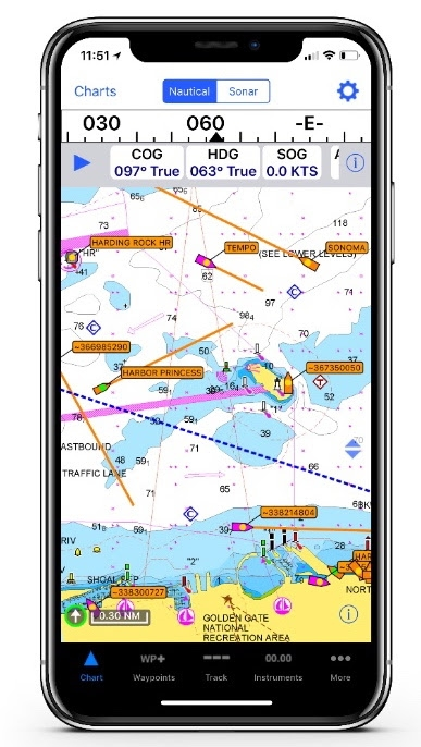 iNavX Brings AIS Live Coverage To Mobile Devices - Great