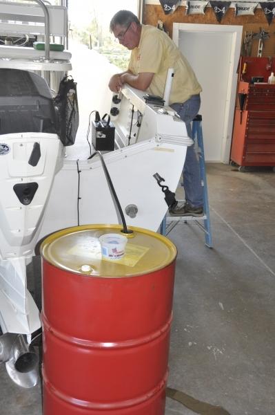 DIY Fuel Tank Draining - Great Lakes Scuttlebutt